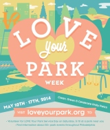 Love Your Park Day of Service, May 10 and 11